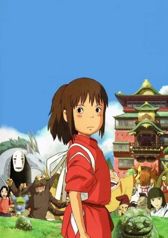 Chihiro In Hayao Miyazaki S Spirited Away 2001 A Viagem De Chihiro A Viagem Anime