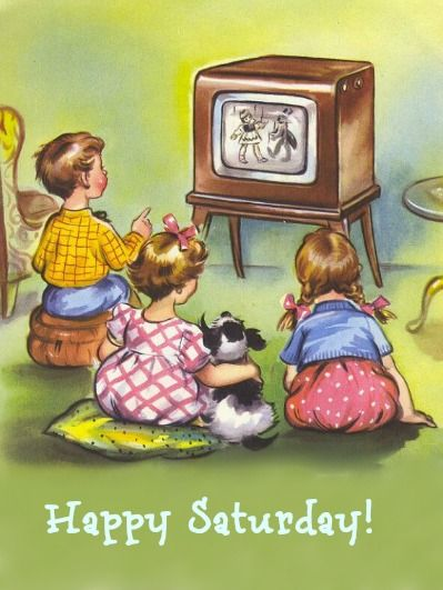 I remember as a kid in the late 50's into the 60's, jumping out of bed on Sat. mornings w/ my siblings meant hours of watching great cartoons while eating cereal. What a great memory.