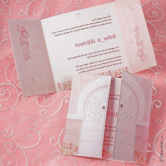 ide texte faire part mariage oriental - Texte Faire Part Mariage Oriental
