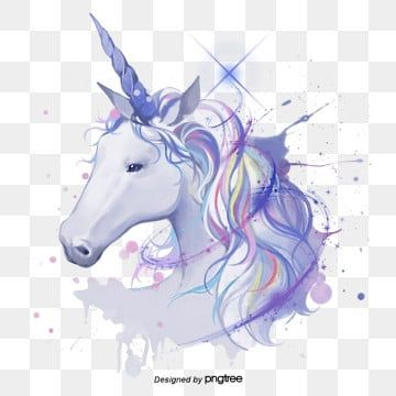 White Hand Painted Spattering Unicorn Elements Legend Spatter Fantasy Png Transparent Clipart Image And Psd File For Free Download In 2020 Pictures To Draw Font Illustration Mythical Animal