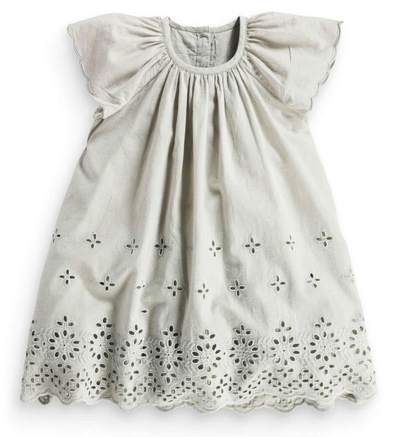 Broderie lace dress next