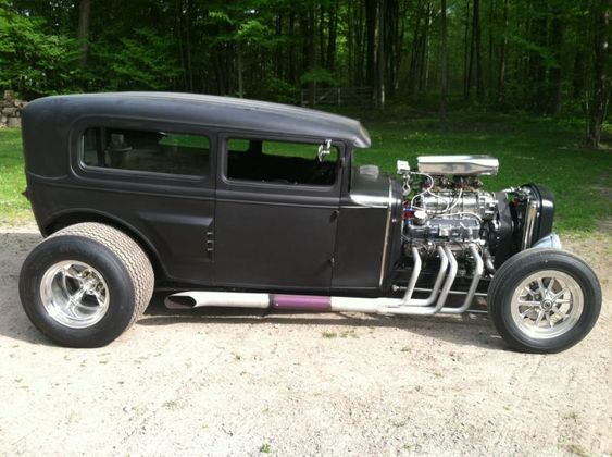 1930 ford model A. Street Rat Rod