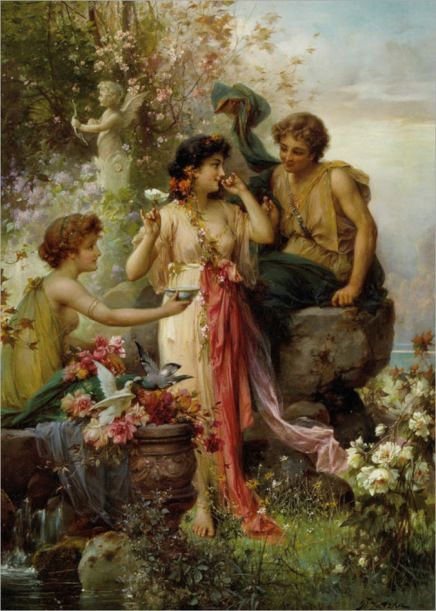 Zatzka_Hans_The_Love_Offering_Oil_on_Canvas-large