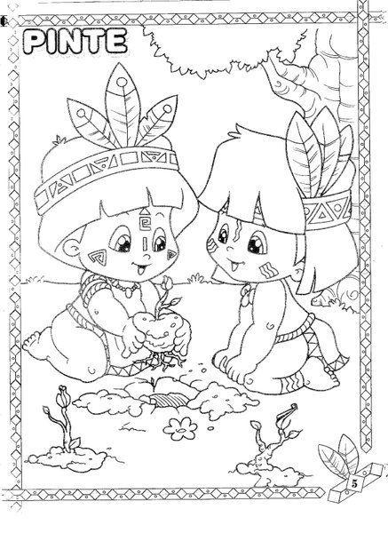 Dia Do Indio 19 De Abril Atividade Dia Do Indio Dia Do Indio