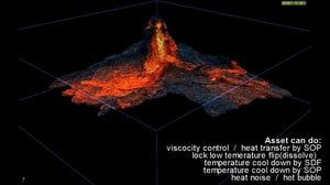 Develope of Magma Simulation in Houdini on Vimeo