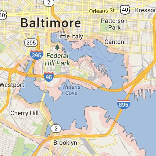 Google Maps Baltimore ~ CVLN RP