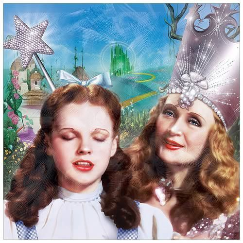 Glinda and Dorothy Canvas Art