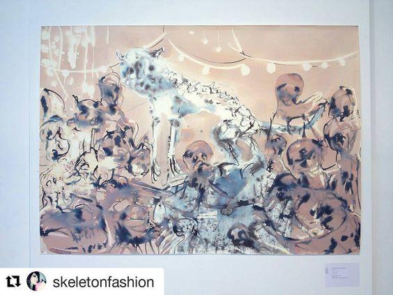 #Repost @skeletonfashion  #mybiennalern @biennaledisegno #far #alessandropessoli