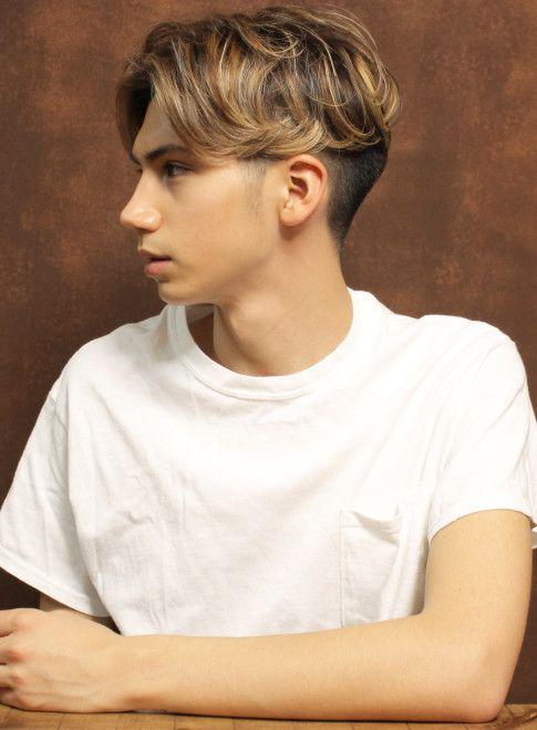 外国人風センターパート 髪型メンズ ビューティーナビ 髪型 メンズ 髪色 メンズ メンズヘアカット