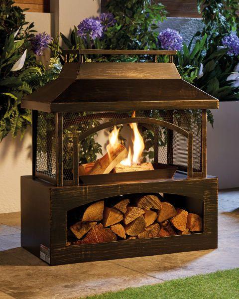 Aldi S Bargain Outdoor Log Burners Go On Sale In Stores This Week With Images Outdoor Wood Burner Log Burner Wood Furnace