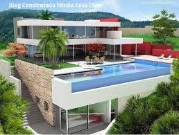 Resultado de imagem para planta casa de praia 2 andares com piscina