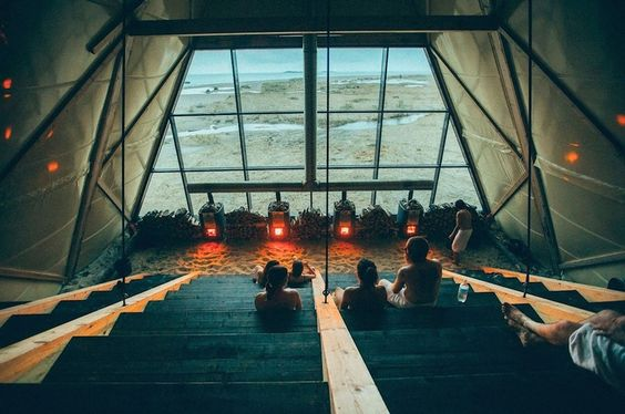 The World's Largest Sauna with Panoramic Views in Norway