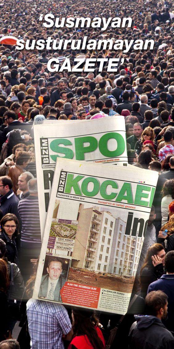 Bu şehirde bu gazete okunur! #bizimkocaeli #gazete