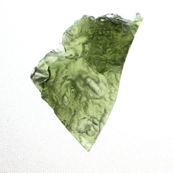 Meteor Mineral Moldavite Specimen Heavy by SustainablyGrateful