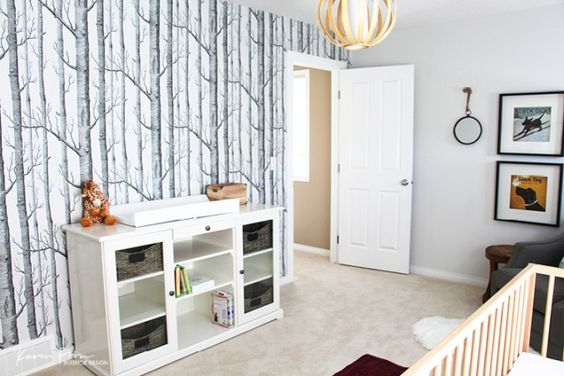 Cole and Son  Woods Wallpaper Babyroom