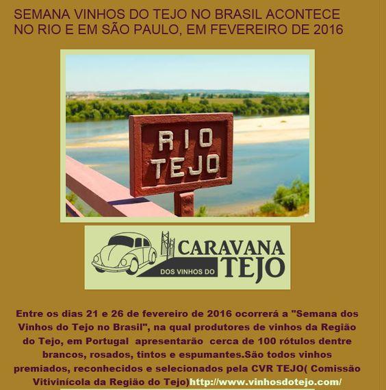 #cvrtejo #winesoftejo #vinhosdotejo CVR TEJO no Blog Apreciadoras de Vinhos | Fevereiro de 2016 | Grande Prova | Brasil.