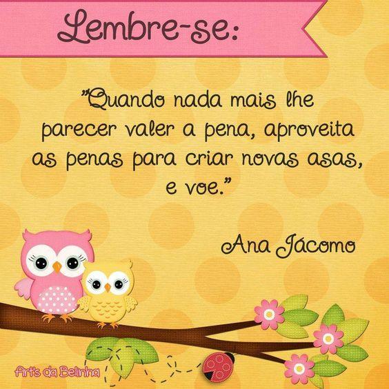 e voe...Citações Juliana Fraga \♥/