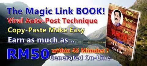 Payah nak percaya? Magic Link BOOK di laman ini http://www.bit.ly/myeponlinks ingin berkongsi info teknik menjana RM50 dalam masa 45 minit dengan hanya 3 langkah secara percuma! Daftar Aktif Akaun dan Kongsi link dengan teman2 media sosial. Link ini http://bit.ly/click4easymoney juga telah memberi kami wang tunai serta mata kerana berkongsi maklumat antara rakan2 FB. Cukup Mudah tanpa bayaran! - http://ift.tt/1HQJd81