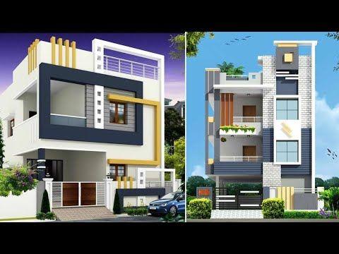 3 Floor House Elevation Designs India