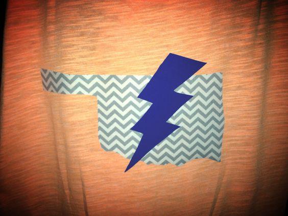 www.facebook.com/maelizdesigns #thunderup #okc