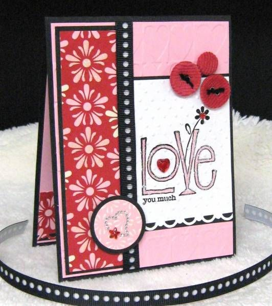 Mojo123 Love You Much Valentine by pam124 - Cards and Paper Crafts at Splitcoaststampers