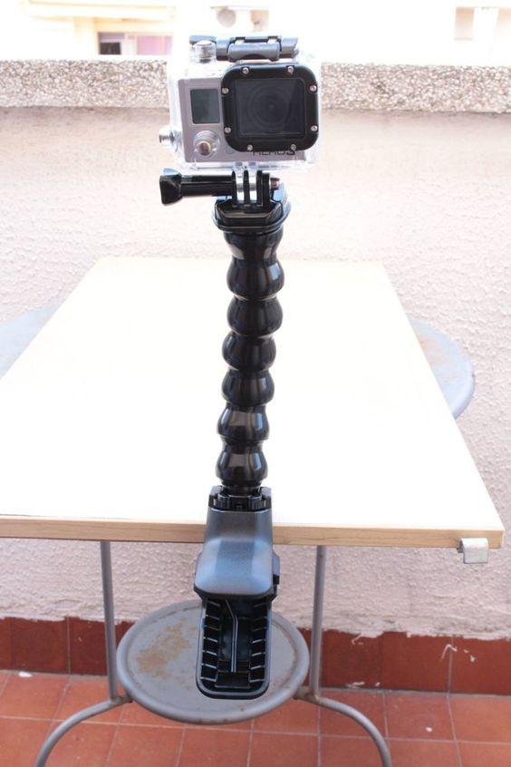 CV's GoPro Jaws: Flex Clamp - Soporte para videocámaras GoPro Hero