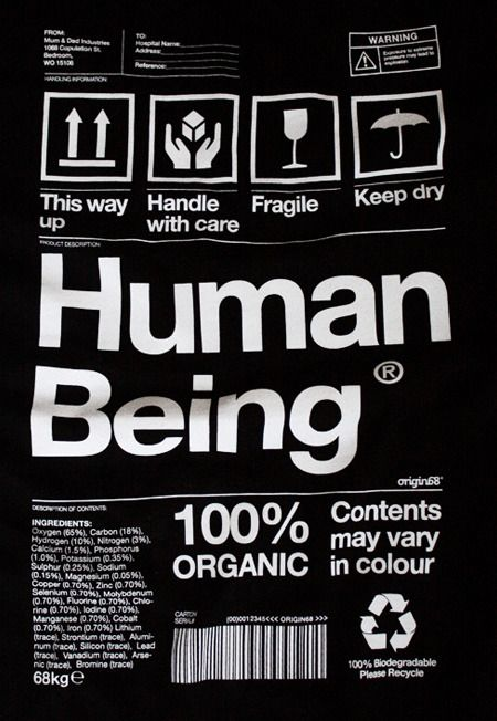 human being label :)