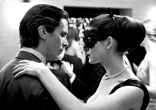 Christian Bale And Anne Hathaway, In 'The Dark Knight Rises'