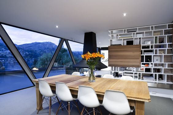 #Dining #Room #inspiration Use your ceiling light as the perfect feature piece for your space. Click here →   http://www.shinelighting.co.uk/all-lighting/interior-lighting