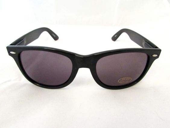 Black wayfarer $10.00. All orders come with free shipping to the united states and a free micro fiber bag.