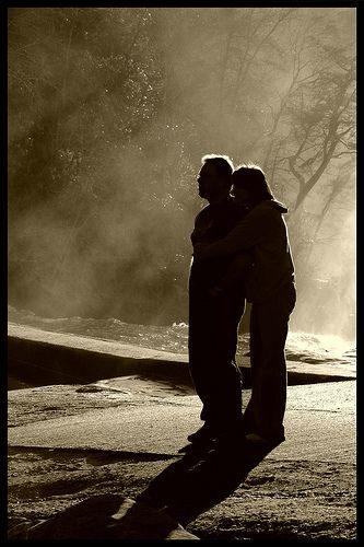Silhouetted Affection. | Flickr - Photo Sharing!