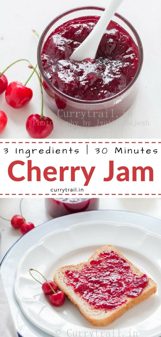 Cherry Jam Recipe Without Pectin