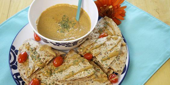 Summer Succotash Quesadillas   With Nacho Mmmm Sauce | Oregonian Recipes