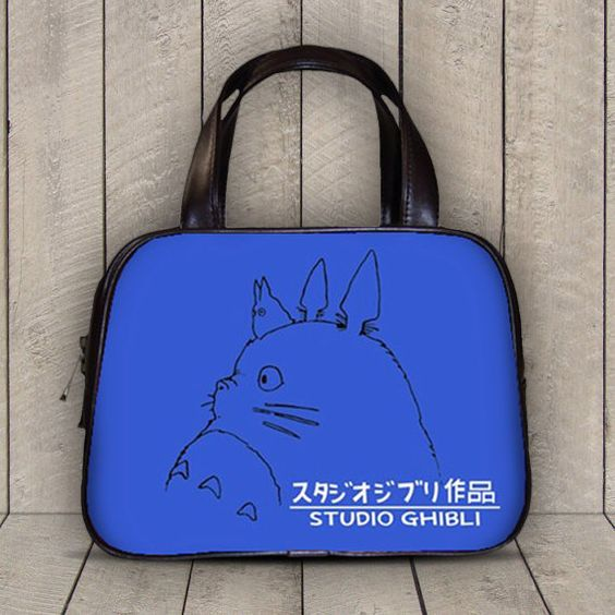 Studio Ghibli My Neighbor Totoro 2 Sides Classic Diaper Purse Handbag - 10210
