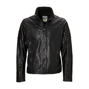 G-Star Raw leather jacket. www.soleandblues.com