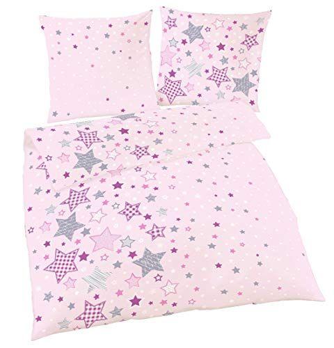 Sterne Fein Biber Madchen Bettwasche Kinderbettwasche