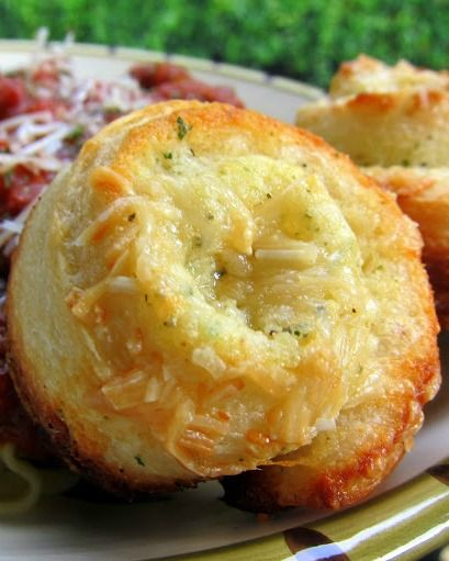 Garlic Rolls, Muffin Tins And Garlic On Pinterest