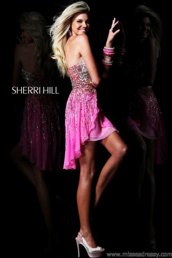 Sherri Hill 8443 Dress - MissesDressy.com