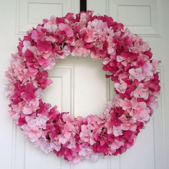 Hydranga wreath