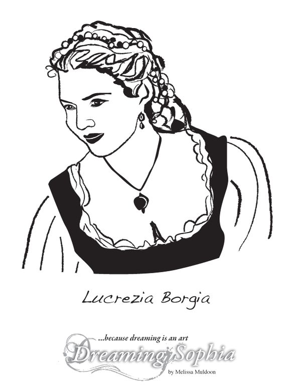 Lucrezia Borgia was the famous daughter of a Pope, with reputation as an assassin