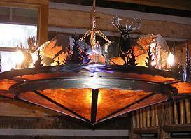 HartCrafters Custom Metal Art Home Decor Rustic Chandeliers