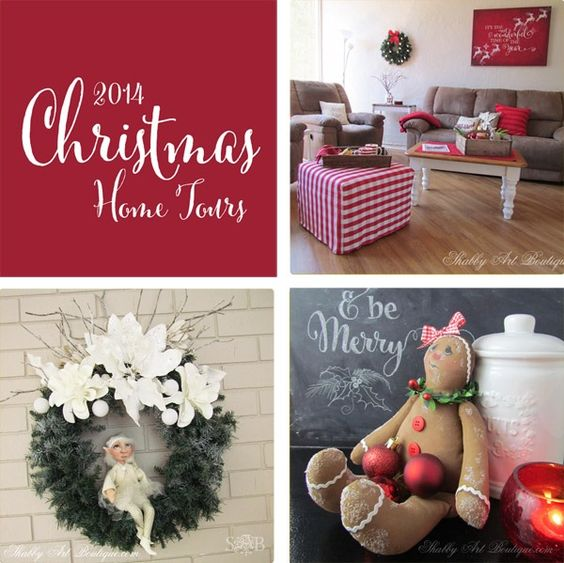 Shabby Art Boutique - 2014 Simply Christmas - Round up 5