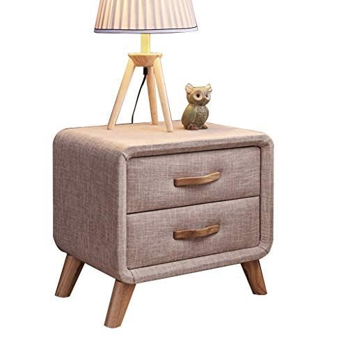 Ainiyf Bedroom Bedside Table Simple Modern Solid Wood Side Table Locker Storage Drawer Design Bedside Table Design Side Tables Bedroom Bedroom Night Stands