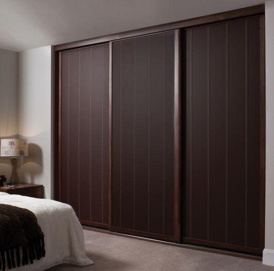 Cheap Bedroom Design Ideas Sliding Door Wardrobes: Wardrobe Sliding Doors Hpd437