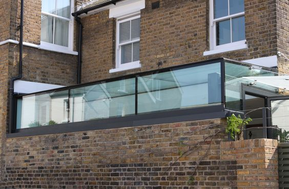 External View Of Glass Roof To Side Return Extension Www
