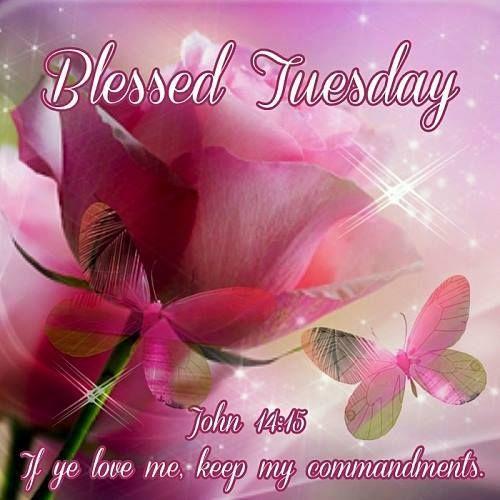 Blessed Tuesday, John 14:15