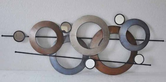 Abstracto de metal dp 106796 decoracion de metal para for Figuras de metal para decorar paredes