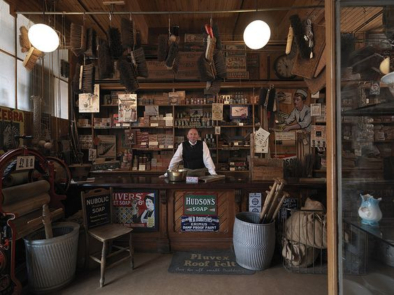The Co-op hardware shop at Beamish by Beamish Museum