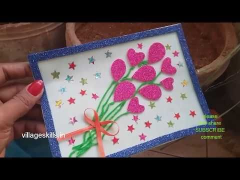 Youtube Easy Greeting Cards Diy Gift Card Greeting Cards Handmade