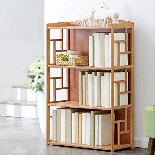 Yang Home Bedroom Bookcase Bookshelf Solid Wood Multifunction